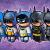 """BATMEN""  Available as  Magnet, Block or Print"